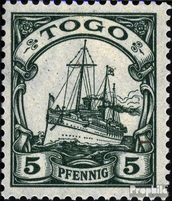 Togo (German. Colony) 21 used 1909 Ship Imperial Yacht Hohenzol