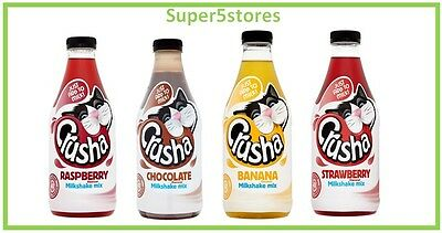 Crusha Milkshake Mix 1Ltr *select Flavour* Cheapest- Great Flavours