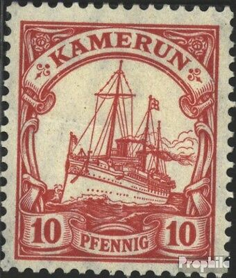 Cameroon (German. Colony) 22a used 1906 Ship Imperial Yacht Hoh