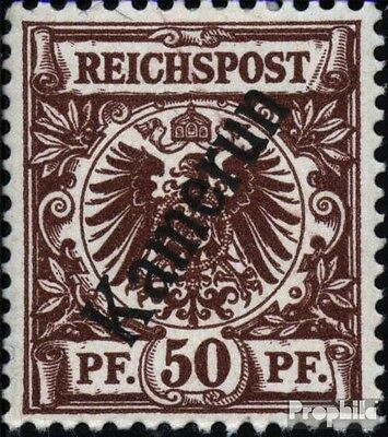 Cameroon (German. Colony) 6 with hinge 1897 print edition