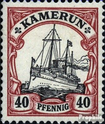Cameroon (German. Colony) 13 used 1900 Ship Imperial Yacht Hohe