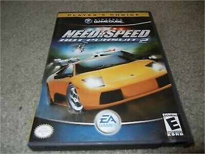Need For Speed Hot Pursuit 2 Nintendo Gamecube Complete Player S
