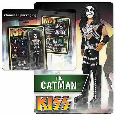 KISS Retro (Series 1) 8-Inch Peter Criss-Catman Action Figure-Brand New
