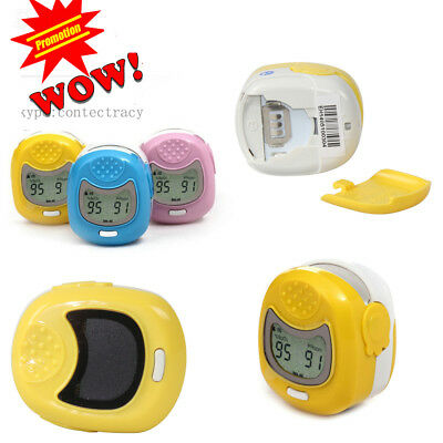 CONTEC LED Pediatric/Childrens/Kids Fingertip Pulse Oximeter Spo2 Monitor,CE,FDA