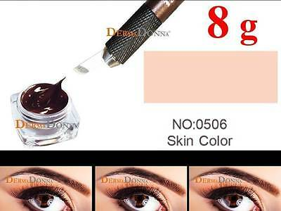 Microblading Farbe Permanent Make up Farbe-SKIN COLOR -8g/39,99€ (100g/499,88€)