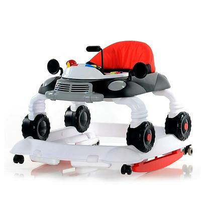 BABY-PLUS Walker Wipp-Car C 13-00 (Black/White)