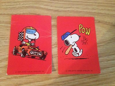 Antique 1958 Hallmark Peanuts Snoopy Valentines day Cards Vintage rare Great