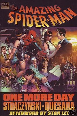 Amazing Spider-man One More Day Hardcover Stracynski