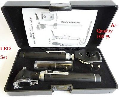 F.O Opthalmoscope,ophthalmoscope,Otoscope ENT Diagnostic Set.LED,CE
