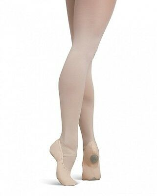 Pink canvas capezio cobra 2030 split sole ballet shoes -all sizes
