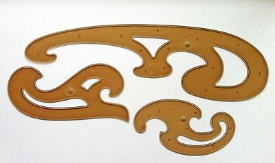 Koh-I-Noor Set of 3 French Curves