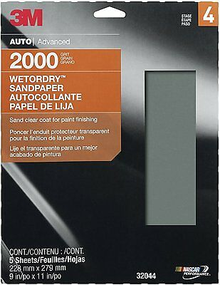 """3M 32044 Imperial Wetordry 9"""" x 11"""" 2000 Grit Sheet"""