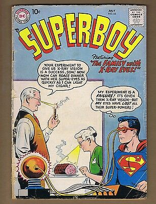 Superboy 66 (FR+) Silver Age comic book (c#02044)
