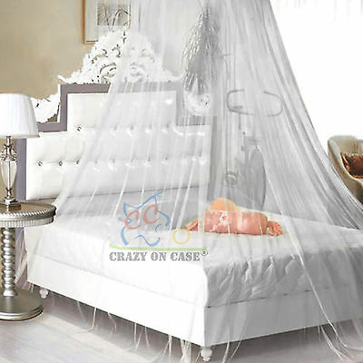 Bed Canopy Netting Curtain Dome Fly Mosquito Midges Insect Stopping Net Outdoor