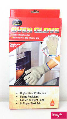 2pcs Oven Glove Heat & Flame Resistant Anti-Burn KB0057x2