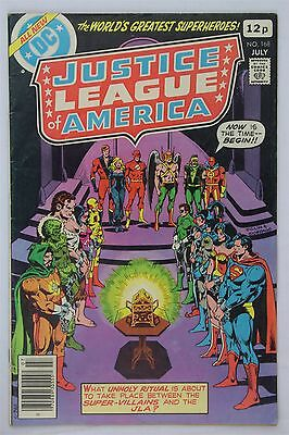 DC Comics Justice League Of America #168 1979 FN- Vintage Gerry Conway Dillin