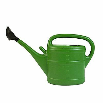 10L Garden Essential Watering Can Indoor Outdoor Watering Can With Rose - GREEN