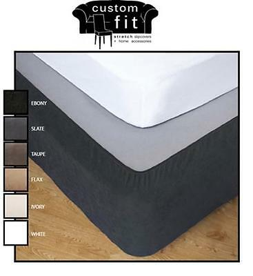 Apartmento Custom Fit Stretch Valance Bed Wrap 6 Colours Free Shipping Ex Syd