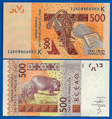 West African States - Senegal  P-719K 500 Francs  Uncirculated FREE SHIPPING