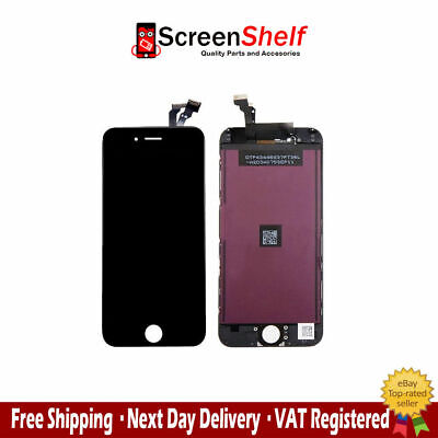 COMPLETE LCD SCREEN DIGITIZER REPLACEMENT FOR IPHONE 6 6G 4.7 inch BLACK
