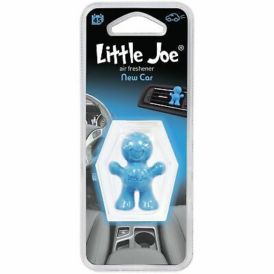Little Joe Scents Fun 3D Gel Car Vent Clip Home Air Freshener Freshner - NEW CAR