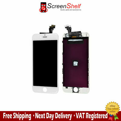 "For iPhone 6 4.7"" White LCD Touch Display Assembly Digitizer Screen Replacement"