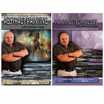 Painting Instruction DVDs set by Mix Lang   apt2