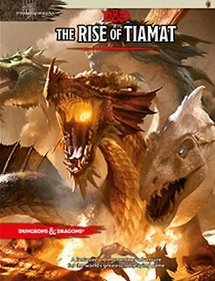 Dungeons & Dragons: The Rise of Tiamat (Hardcover) TRPG