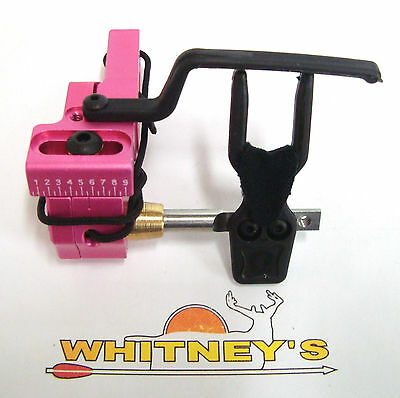 Ripcord Code Red Fall Away Arrow Rest - Left  Hand / Drop Rip Cord-Pink RCRP-L