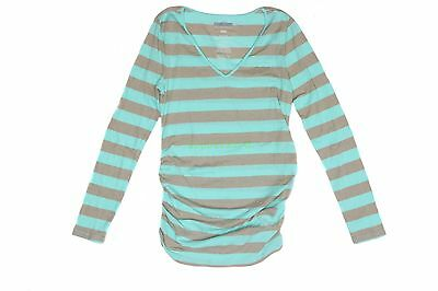 New OLD NAVY Womens Maternity Shirt V-Neck Long Sleeve Shirt NWOT Size S M L XXL