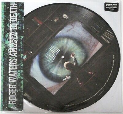 Roger Waters Amused To Death limited numbered picture disc 2 LP set NEW/SEALED