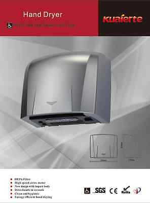 Automatic HEPA Filter High-Speed Hand Dryer K2013W the longest air mouth