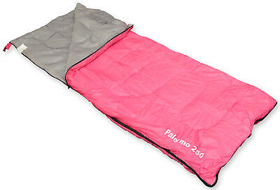 Pink 2 Season Single Rectangle Envelope Camping/Hiking Sleeping Bag
