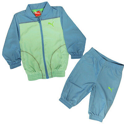 Puma ESS Infant Woven Baby Children Boys Polyester Light Tracksuit 824157 01 R12