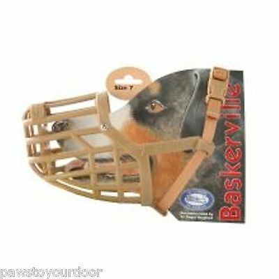 Baskerville Dog Muzzle Plastic Basket Cage All Sizes Company of Animals