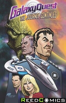 GALAXY QUEST THE JOURNEY CONTINUES GRAPHIC NOVEL New Paperback Collects #1-4