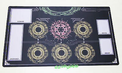 D906 FREE MAT BAG Cardfight Vanguard G Playmat Game Custom Play Mat Red Circles