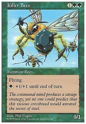 2x Api Assassine - Killer Bees MTG MAGIC 5E 5th Edition Eng/Ita