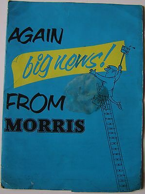 Big News From Morris Folder but NO CONTENTS Not dated c 1960