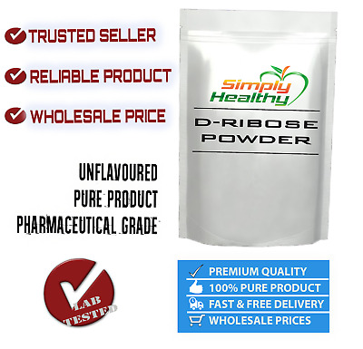 D-RIBOSE ENERGY 2kg UNFLAVOURED PREMIUM QUALITY BEST AVAILABLE VALUE RIBOSE