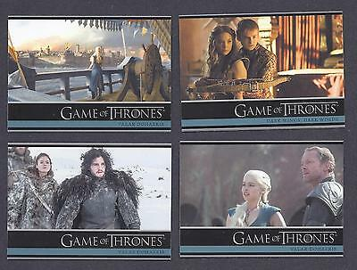 Games Of Thrones - Season 3 - Base Trading Cards Set - 98 Cards