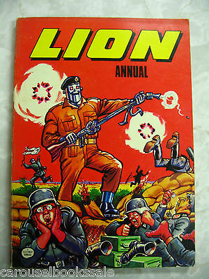 LION ANNUAL Comic Cartoon Book pb 1976 A91