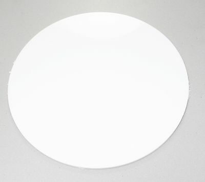 WHITE 3MM and 5MM Circles, Discs, 100mm-900mm ACRYLIC SHEETS WITH POLISHED EDGES