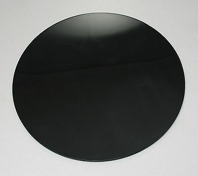 BLACK GLOSS 3MM 5MM Circles Discs 100mm-900mm ACRYLIC SHEETS WITH POLISHED EDGES