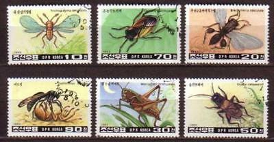 Insect 6 stamps INSE14