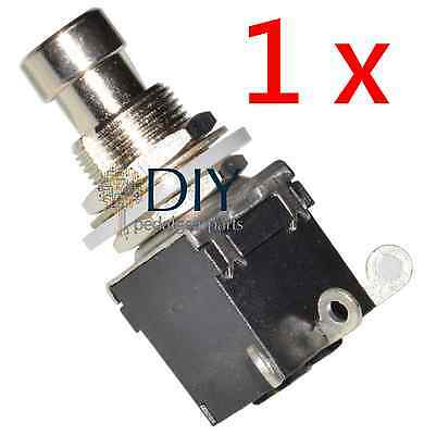 1 x DPDT 3 lugs footswitch interruttore a pressione true bypass pedal clone DIY
