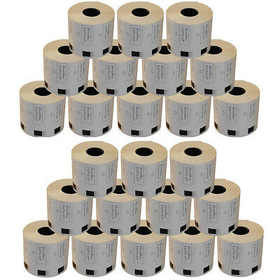 AFTERMARKET 24 REFILL ROLLS DK11209 ADDRESS LABELS 29x62mm FOR BROTHER DK 11209
