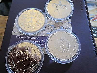 Proof CROWNS 1972 1977 ROYAL MINT CROWNS WITH LIGHTHOUSE CAPSUAL