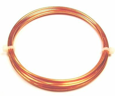 BEADING /& WRAPPING WIRE SOLID COPPER TINNED COPPER WIRE 24GA SOFT 1//2 OZ  28FT