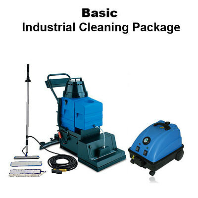 Innovative Basic Industrial Cleaning Business Package for Starters